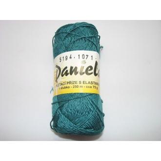Daniela 75g-5194 tm.tyrkys zelená