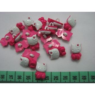 Gombík detský KITTY O 1x2cm