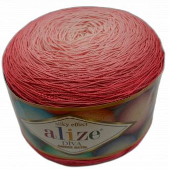 Alize Diva ombre batik - 7381 Červená