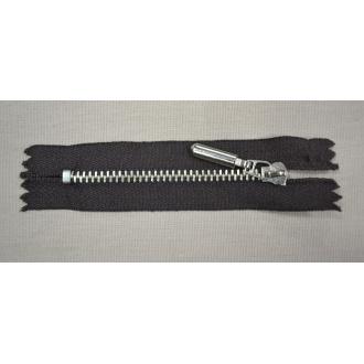 Zips kovový nedeliteľný 8cm