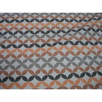 Dekoračná bavlna š.140 oranžový odtieň