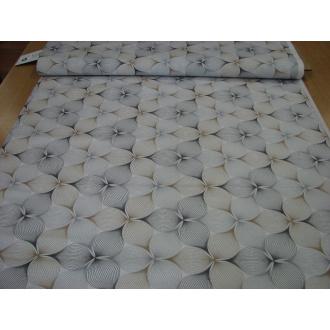 Dekoračná bavlna srdiečko š.140