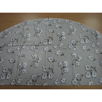 PVC obrusy na stôl Ø 138cm,podlepený