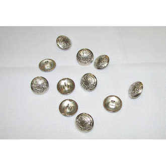 Ozdobný gombík kovový Ø 2cm