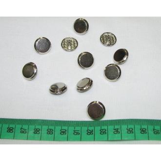 Ozdobný gombík kovový Ø 1,5cm