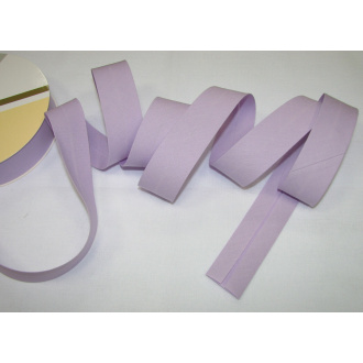 Šikmý prúžok bavlna zažehlený 30mm - fialová