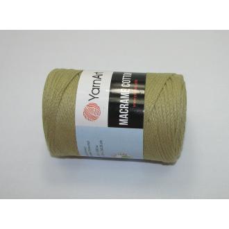 YarnArt Macrame cotton 250g - 793 zelená khaki svetlá