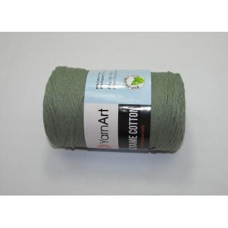 YarnArt Macrame cotton 250g - 794 zelená