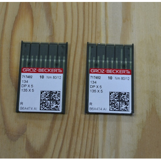 Strojové ihly Groz - Beckert  DPx5- 80/12