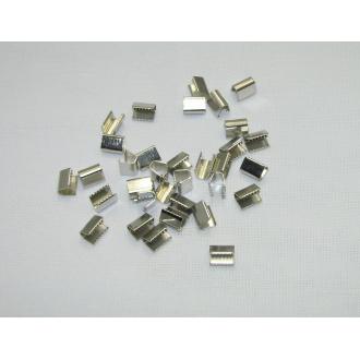 Koncovky - uzávery na šnúry ploché š.1,5cm
