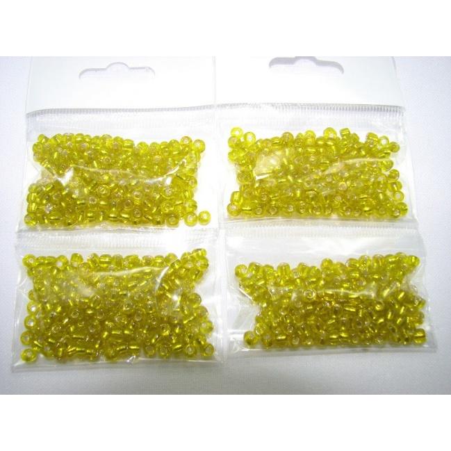 Korálky sklenené O3mm