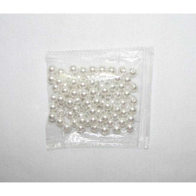 Korálky plastové priemer 8mm