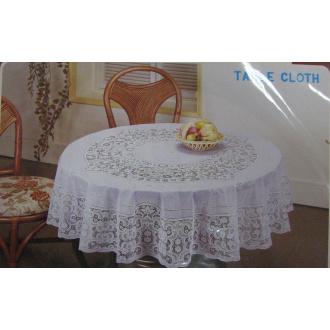 PVC obrusy na stôl krajka  Ø 180cm