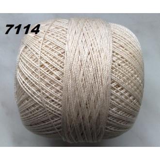 Kordonet č.30 - 7114 (krémová tmavá)