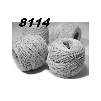 Kordonet č.30 - 8114 (šedá bledá)