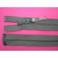 Zips kostenný deliteľný 3mm - dĺžka 25cm tmavo šedý