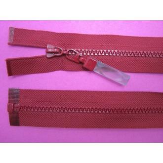 Zips kostenný deliteľný 3mm - dĺžka 30cm (kovový bežec je s gumičkou)