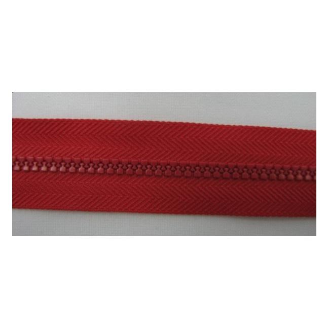 Zips kostenný deliteľný 3mm - dĺžka 30cm kovový bežec
