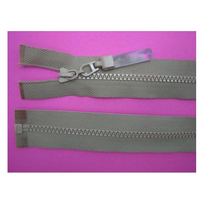 Zips kostenný deliteľný 3mm - dĺžka 35cm (kovový bežec je s gumičkou)
