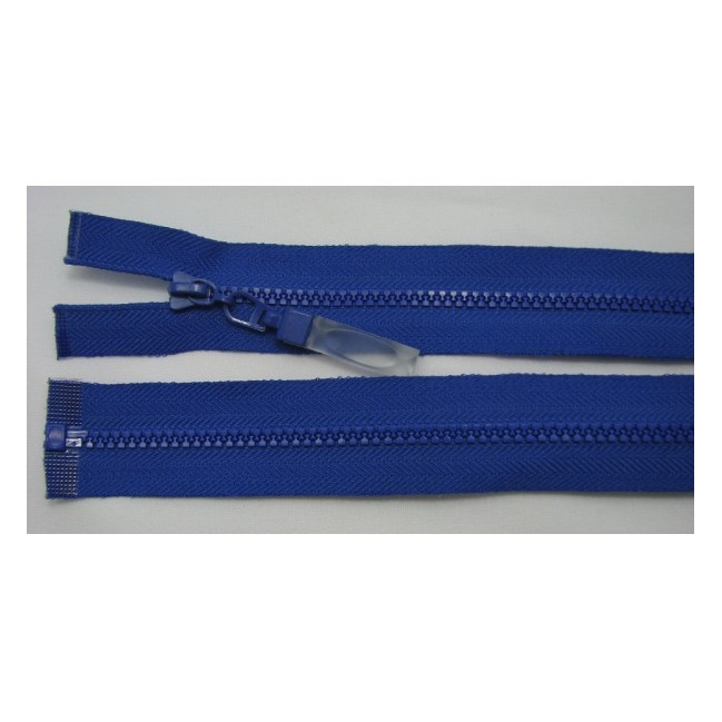 Zips kostenný deliteľný 3mm - dĺžka 40cm (kovový bežec je s gumičkou)