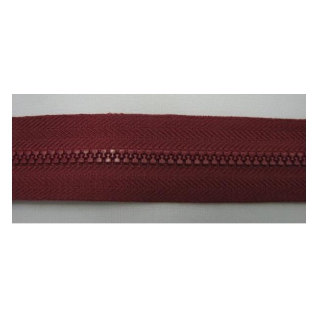 Zips kostenný deliteľný 3mm - dĺžka 55cm (kovový bežec je s gumičkou)
