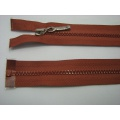 Zips kostenný deliteľný 3mm - dĺžka 60cm kovový bežec