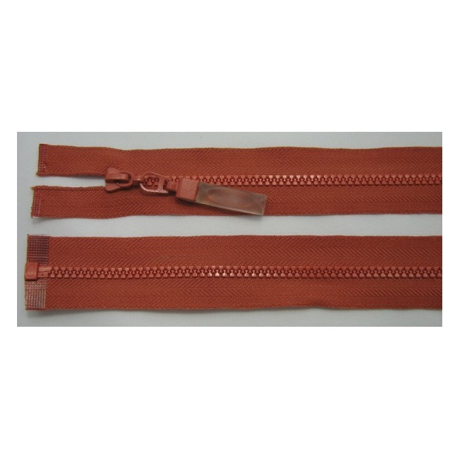 Zips kostenný deliteľný 3mm - dĺžka 65cm (kovový bežec je s gumičkou)