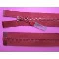 Zips kostenný deliteľný 3mm - dĺžka 70cm (kovový bežec je s gumičkou)