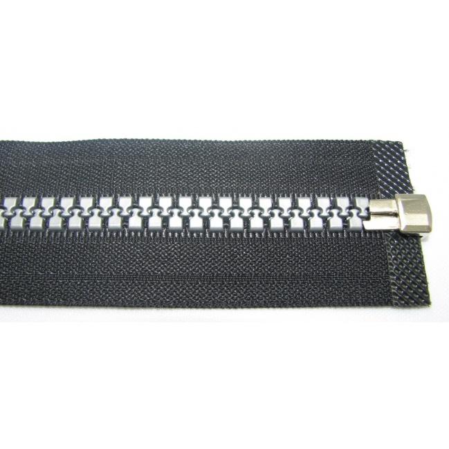 Zips kostenný 8mm deliteľný 80cm