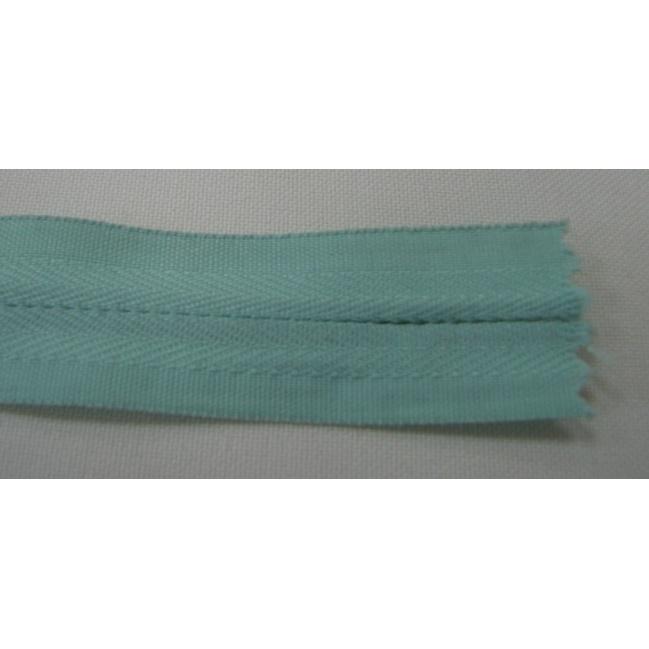 Zips krytý nedeliteľný Bavlnený 20cm bledšia modrá