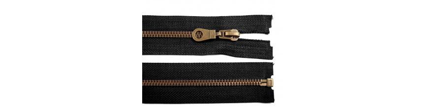 Zips mosadzný 5mm