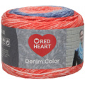 Red Heart Denim Color