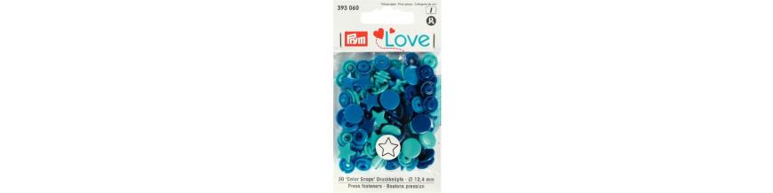 Patentky plastové PRYM LOVE