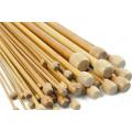 Ihlice rovné bambusové a drevené