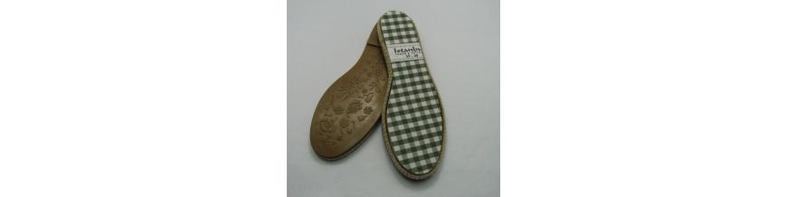 Podrážky na háčkované topánky