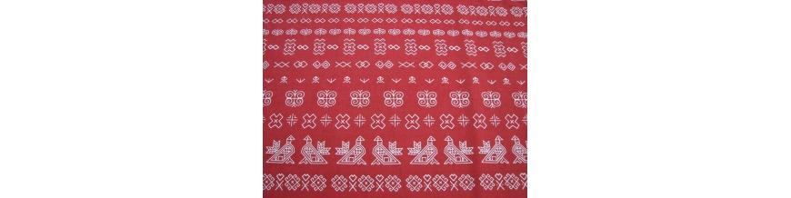 Bavlna na rúška, dekoračná bavlna, detská bavlna, folklórna bavlna