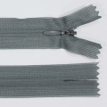 Zips šatový nedeliteľný 100% polyester