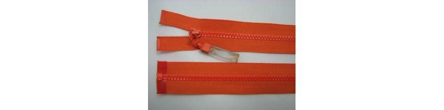 Zips kostenný deliteľný 3mm - dĺžka 25cm s gumičkou