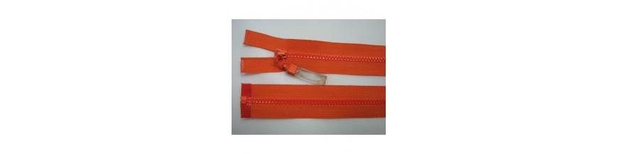 Zips kostenný deliteľný 3mm - dĺžka 55cm s gumičkou