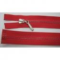 Zips kostenný deliteľný 3mm - dĺžka 65cm kovový bežec