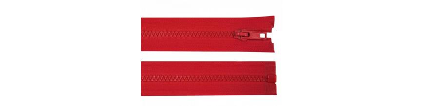 Zips kostenný 5mm deliteľný 45cm
