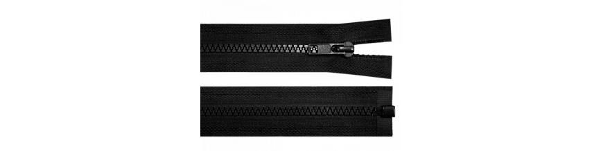 Zips kostenný 5mm deliteľný 120cm