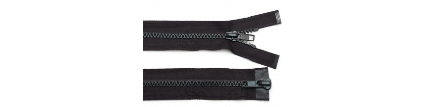 Zips kostenný 5mm obojsmerný 40cm