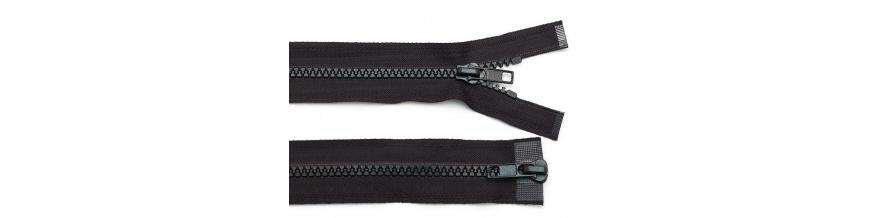Zips kostenný 5mm obojsmerný 45cm
