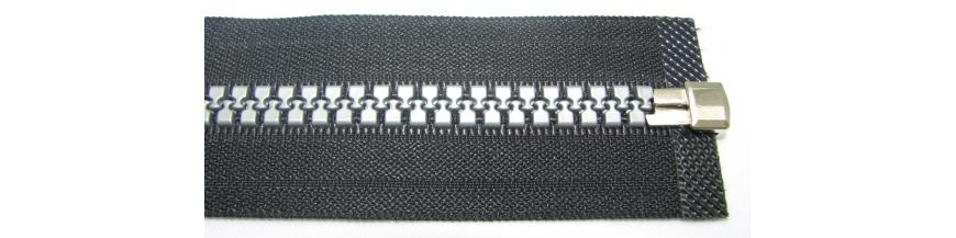 Zips kostenný 8mm deliteľný 60cm