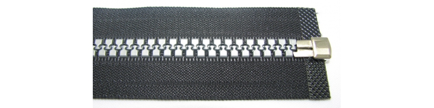 Zips kostenný 8mm deliteľný  75cm