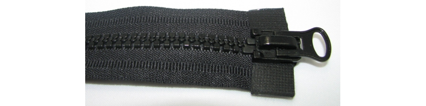 Zips kostenný 8mm obojsmerný 80cm