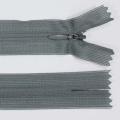 Zips krytý nedeliteľný 25cm