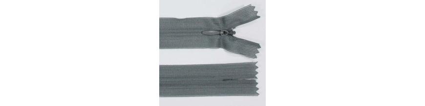 Zips krytý nedeliteľný 50cm
