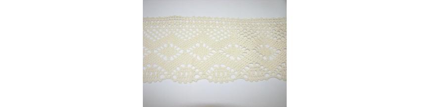 Krajka bavlna od 3,5cm -5cm